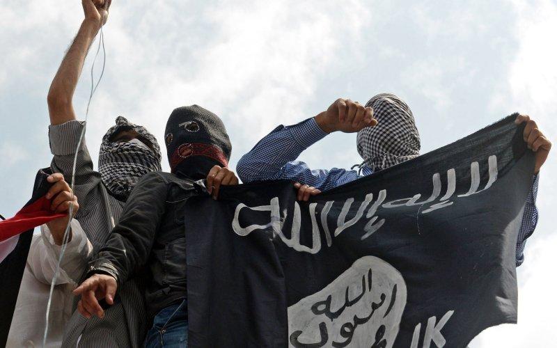 Un gruppo di sostenitori dell'Isis