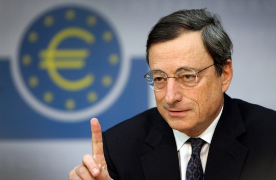 The European Central Bank's new chief Ma