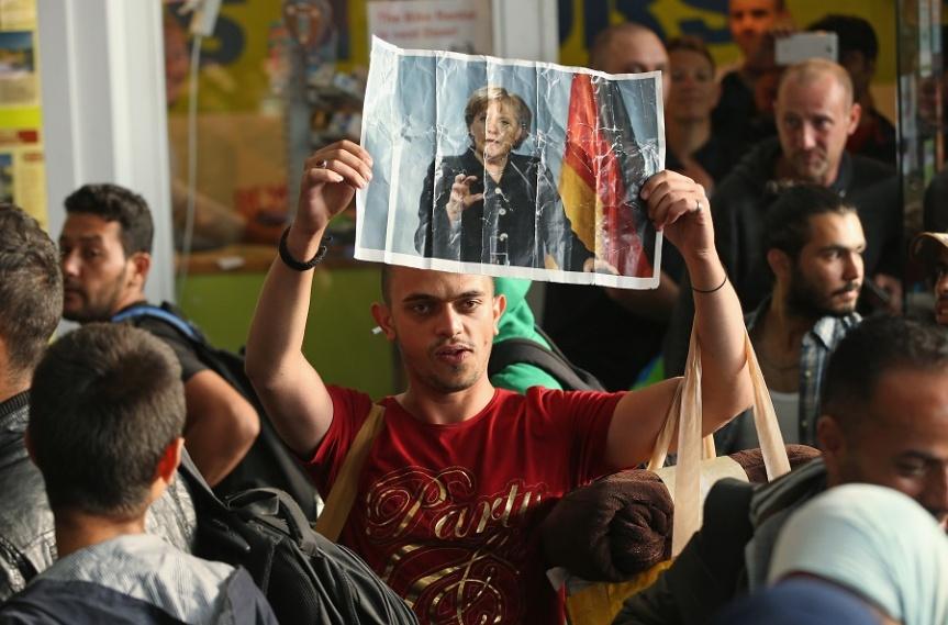 L'arrivo dei migranti siriani in Germania