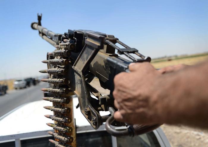 Arma in dotazione alle milizie del Califfo